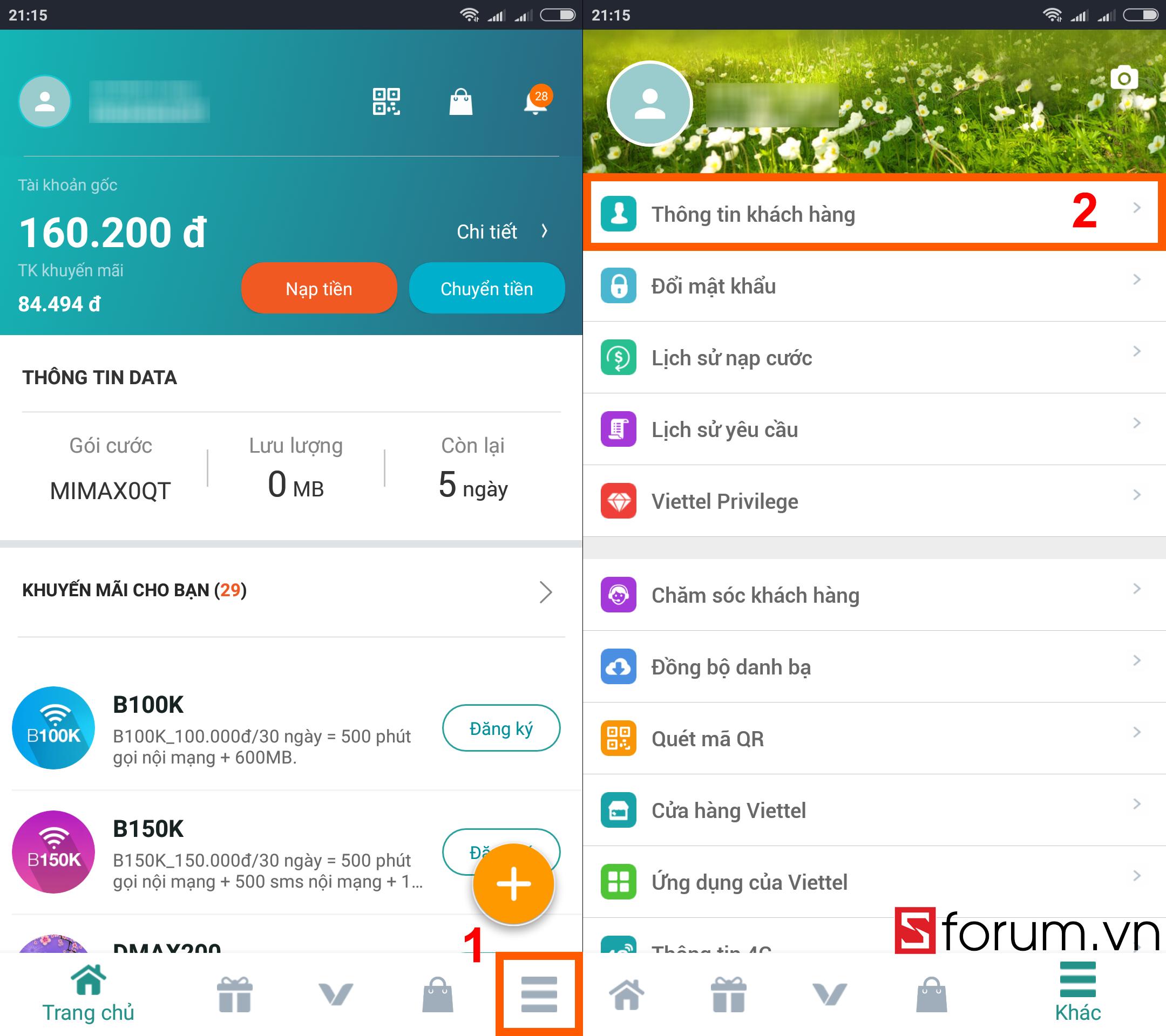 Sforum - Trang thông tin công nghệ mới nhất dk-tttb-viettel-sforum-4 Hướng dẫn tra cứu và cập nhật thông tin thuê bao Viettel ngay tại nhà bằng smartphone