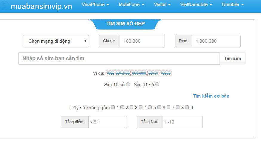 Tìm kiếm sim ngày tháng năm sinh một cách dễ dàng tại muabansimvip.vn