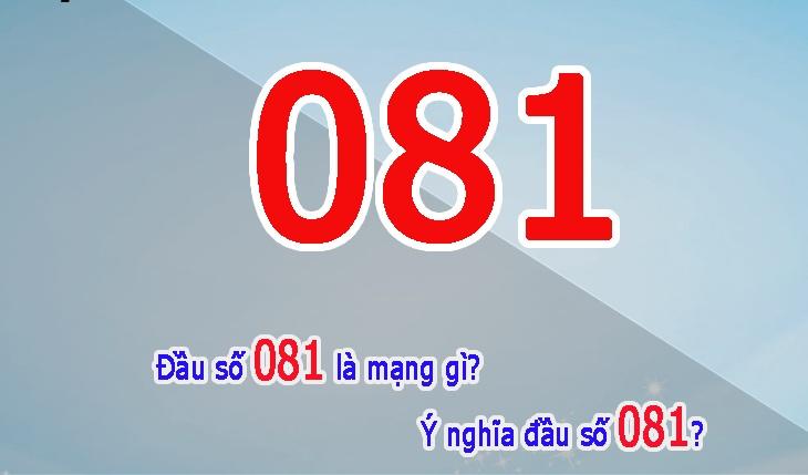 Bật mí đầu số 081 là mạng gì? Bí quyết chọn sim đầu số 081