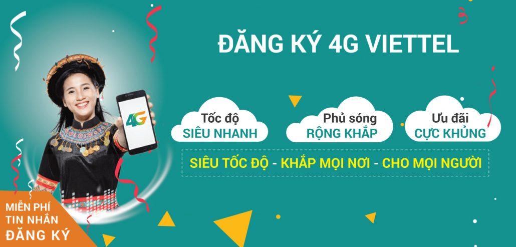 Đăng ký 4G Viettel - Mimax 4G Viettel không giới hạn