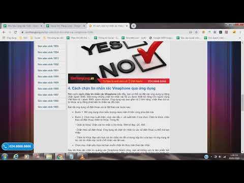 2 cách chặn tin nhắn rác Vinaphone - YouTube