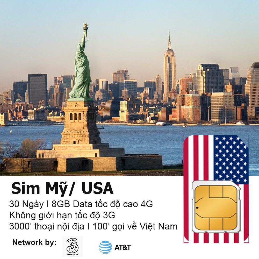 Sim 4G Mỹ là gì? Kinh nghiệm khi mua