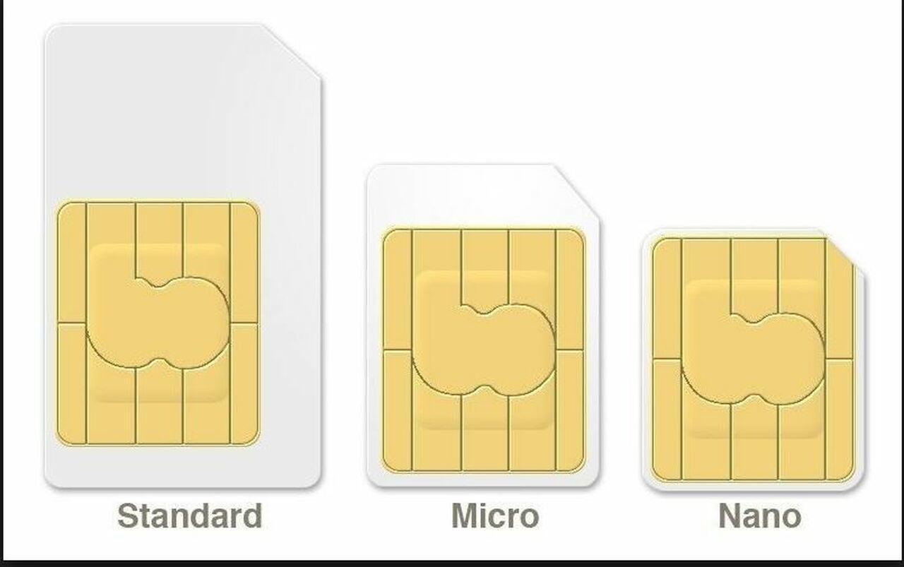 T-Mobile Sim Card 3 IN 1 TRIPLE CUT Nano, Micro & Standard