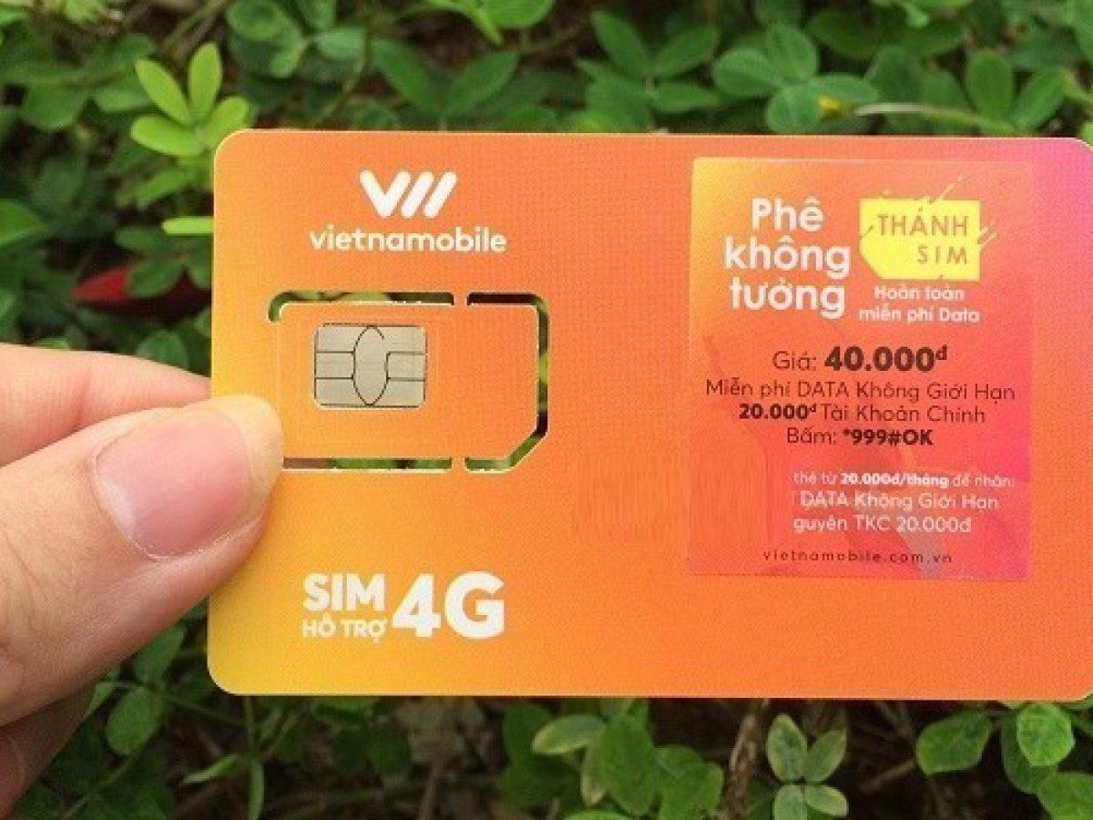Giới thiệu Thánh SIM 4G của Vietnamobile và cách sử dụng?